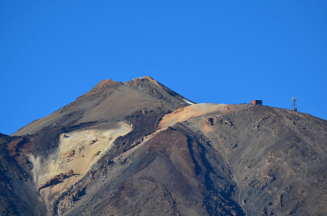Upper cable car station, Mount Teide, Tenerife