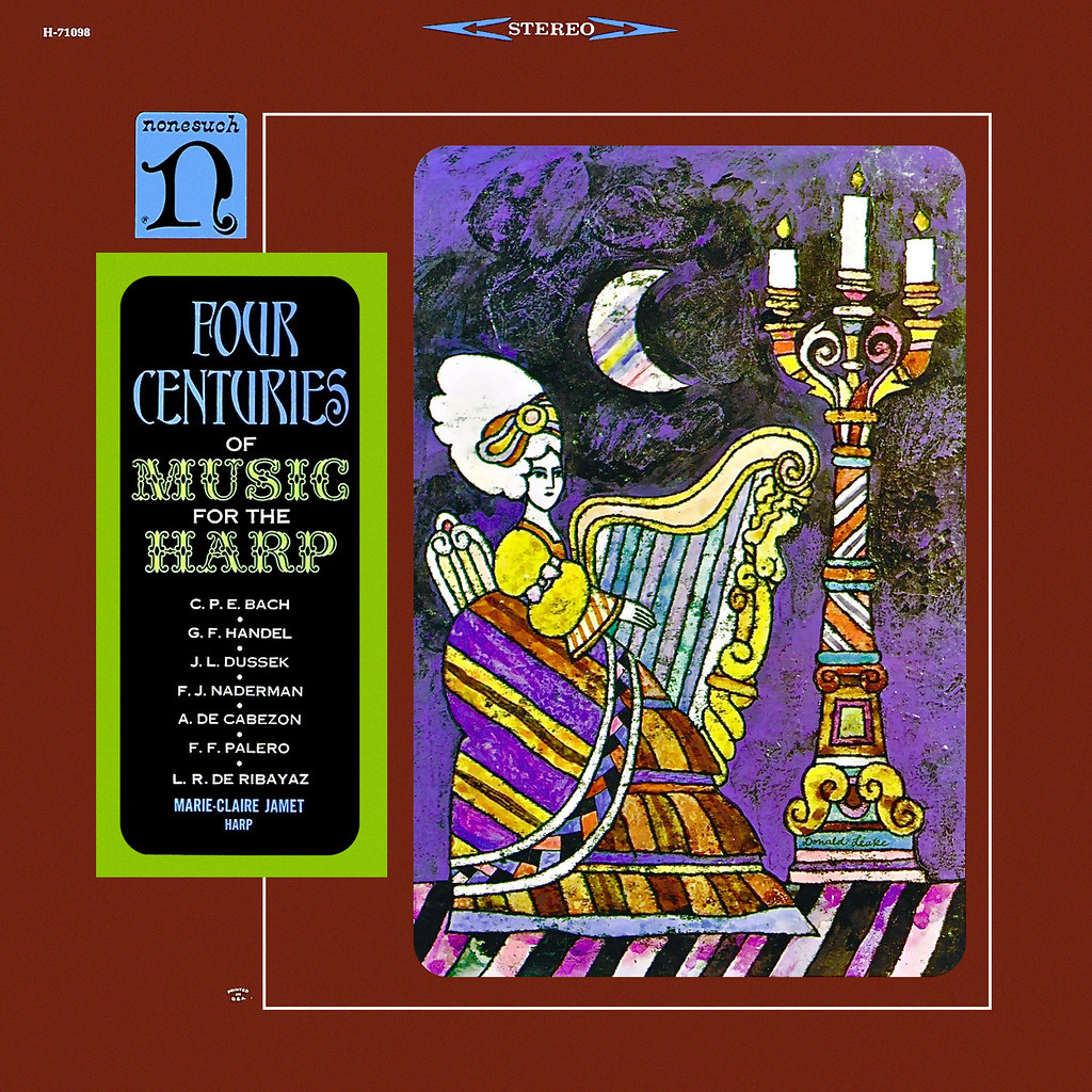 Claire Jamet - Four Centuries of Music for the Harp