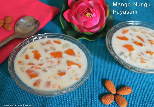 Mango Nungu Payasam