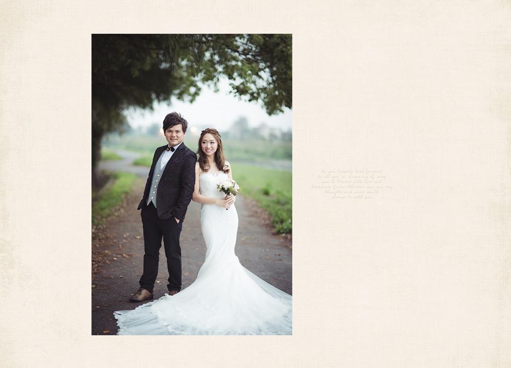 自然風格自助婚紗攝影師