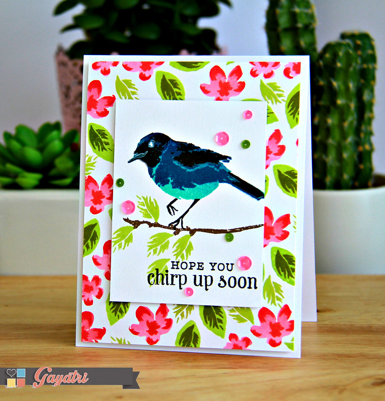 Chirp Up Soon card