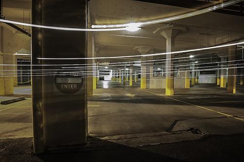 Do Not Enter Garage : Do not enter parking garage montgomery park ne