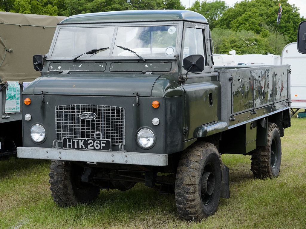 A D F E B on White Land Rover
