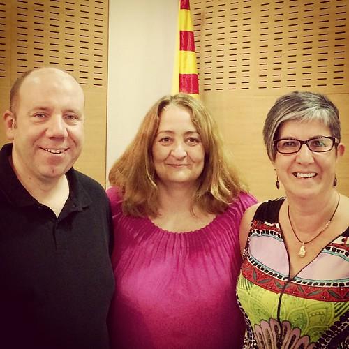 Els 3 regidors d'@EsquerraGelida a l'@AjuntamGelida #MunicipalsGelida #Gelida #Penedès