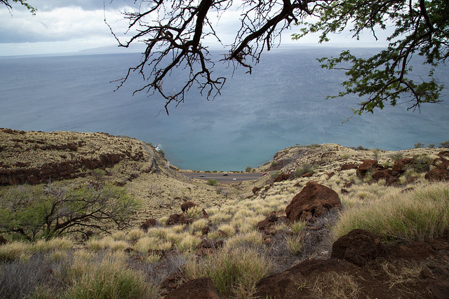 Honoapiilani Highway from Lahaina Pali Trail
