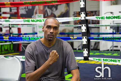 Sean Hill at Mayweather Gym in Las Vegas, NV | by seanhillofficial