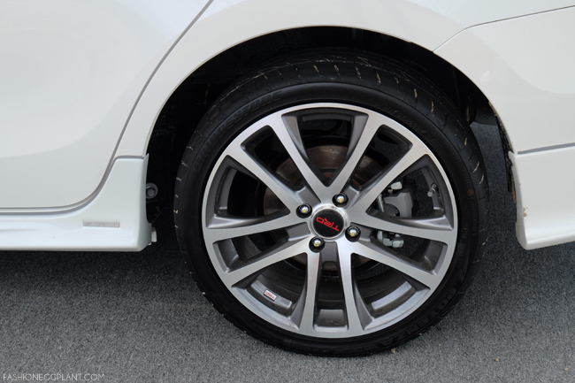 "TOYOTA VIOS 17"" MAGS TRD"