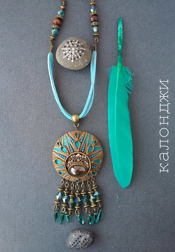 ethnic jewelery polymerclay