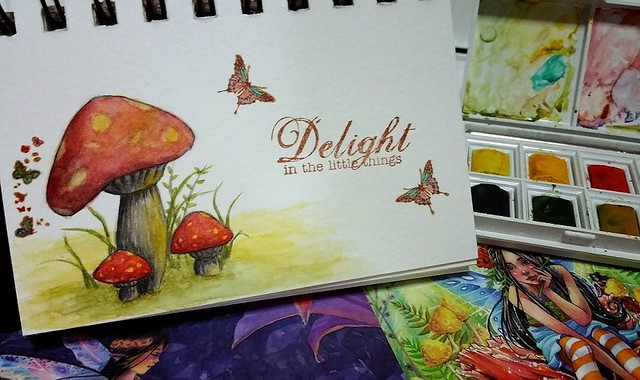 {Delight In The Little Things} Watercolor