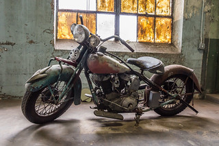 Antique Indian motorcycles - 1
