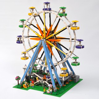 LEGO Creator Expert 10247 Ferris Wheel review   Brickset: LEGO set