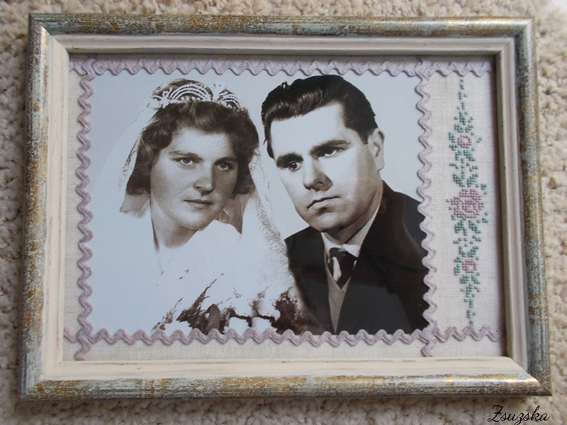 cross stitch, wedding, gift, luli