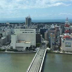 最上階から・その2 #新潟 #niigata