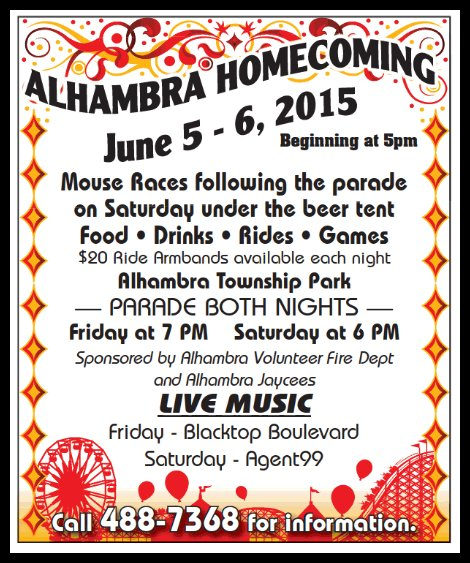 Alhambra Homecoming 6-5, 6-6-15