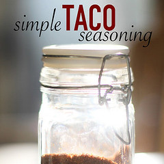 A list of really great homemade seasoning and sauce recipes. From homemade Salsa, to Taco Seasoning.