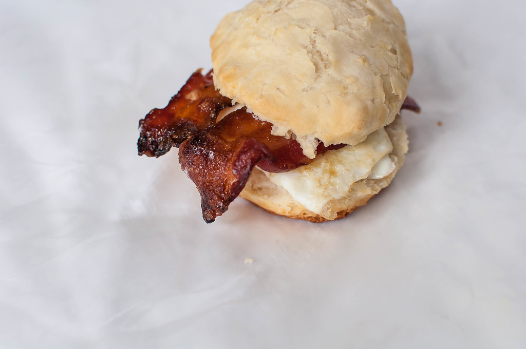 Maple and Brown Sugar Bacon and Egg Biscuits 1