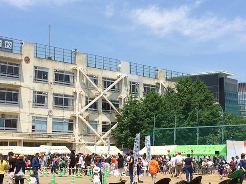 会場の様子 - えびすふれあい広場2015