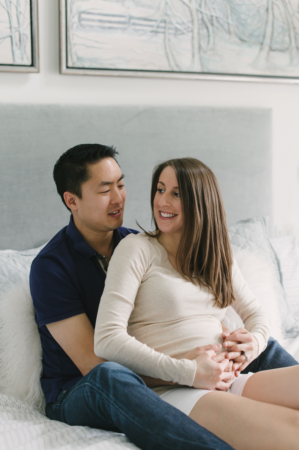 Sacha & Tony: Saturday Rituals (maternity photography)
