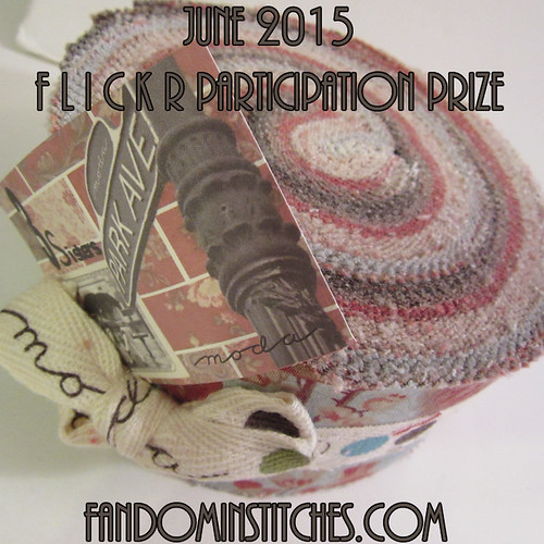 June 2015 flickr participation prize for fandominstitches.com