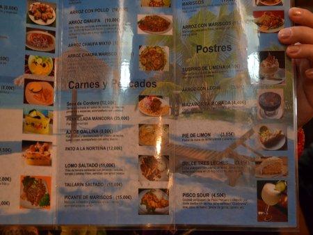 Recomandari culinare in  Barcelona mochica 2