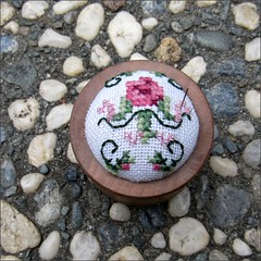 Rose Pin Cushion