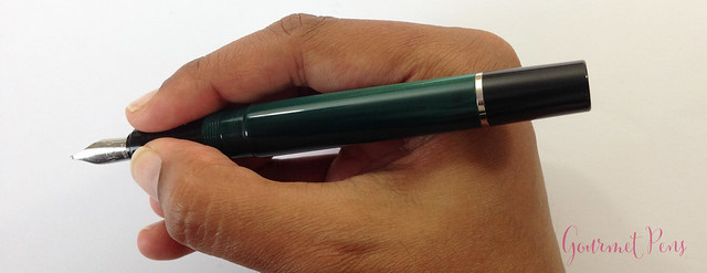 Review Visconti LE Classic Green Fountain Pen @CouronneDuComte (11)