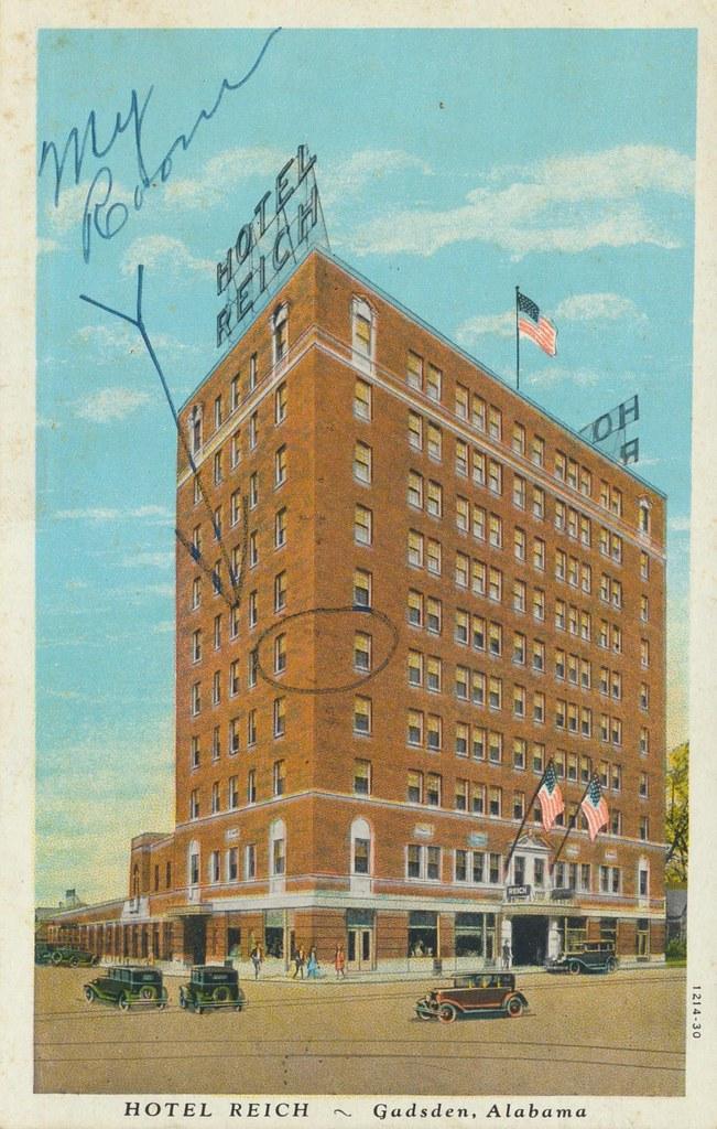Hotel Reich - Gadsden, Alabama