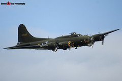 G-BEDF 41-24485 - 44-85784 - B-17 Preservation Ltd - Boeing B-17G Flying Fortress - Duxford, Cambridgeshire - 150523 - Steven Gray - IMG_4934