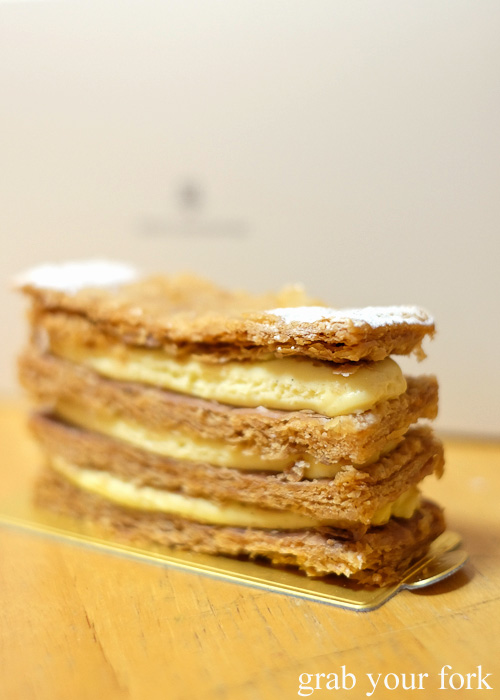 Millefeuille from Henri Charpentier, Isetan at Kyoto station