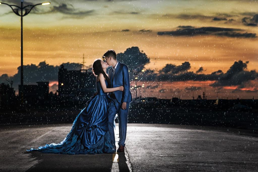 南寮漁港婚紗,夕陽婚紗