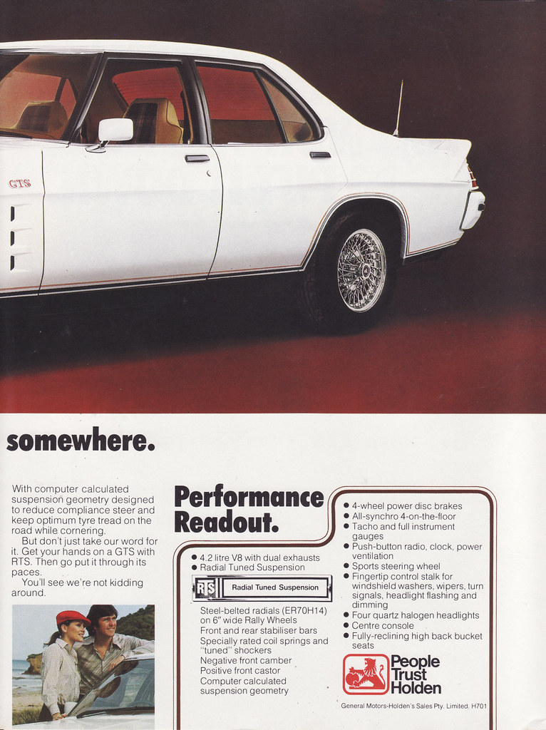 ... 1978 Holden HZ Monaro GTS Ad - Australia | by Five Starr Photos (  Aussiefordadverts)