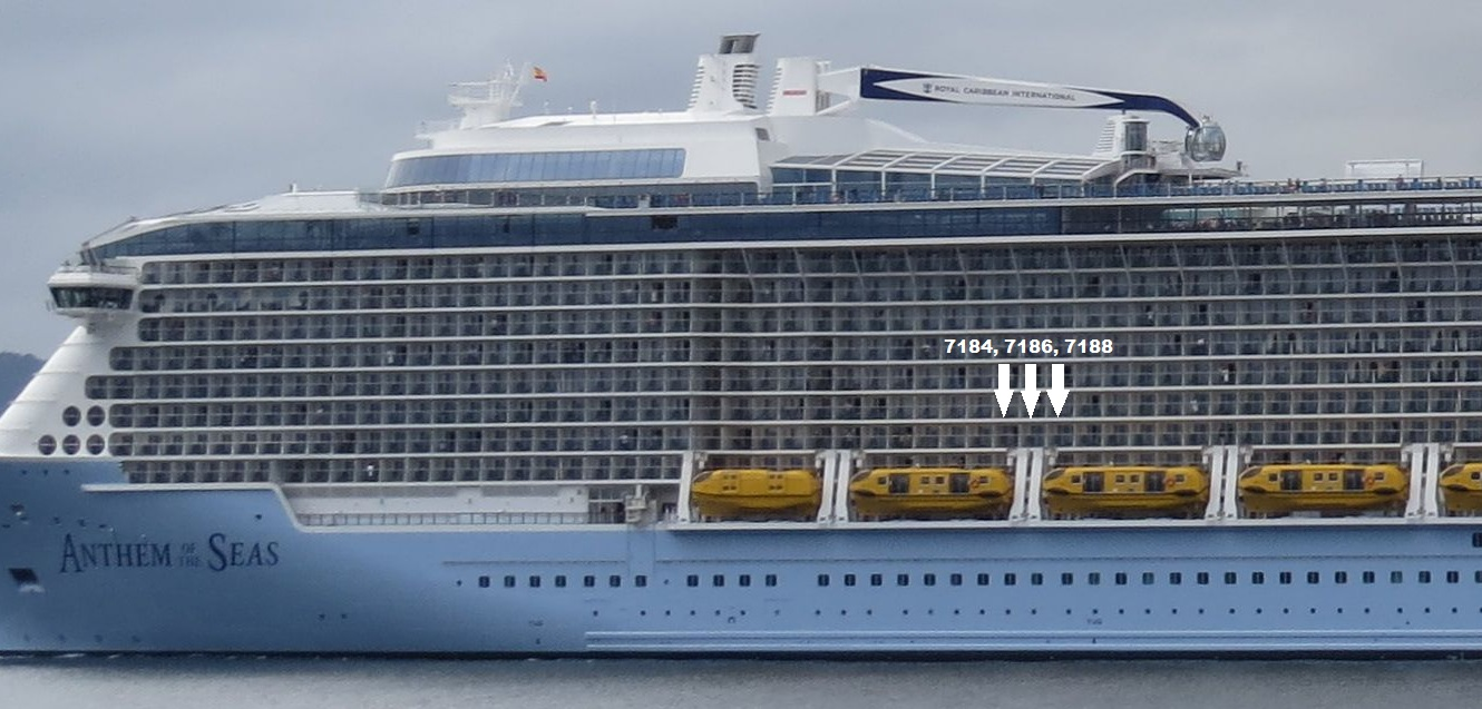 Obstructed Balcony On Anthem Of The Seas Best
