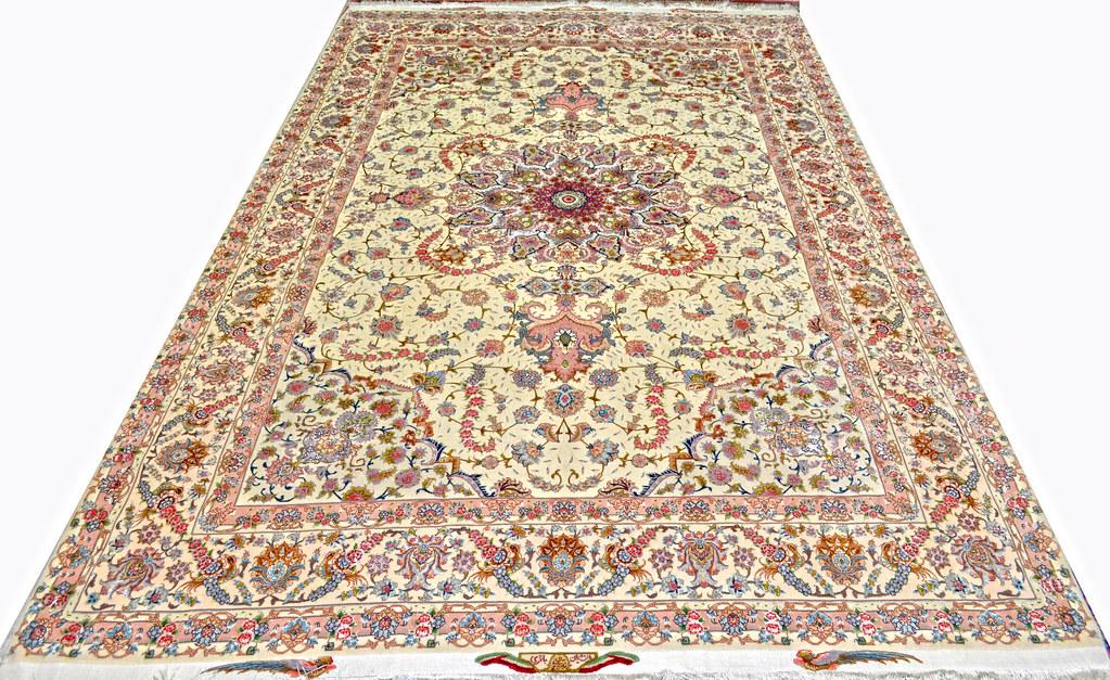 Shirfar Tabriz Persian Rug 7x10 - 70 raj (2)