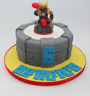 Wallop Skylander Cake Topper