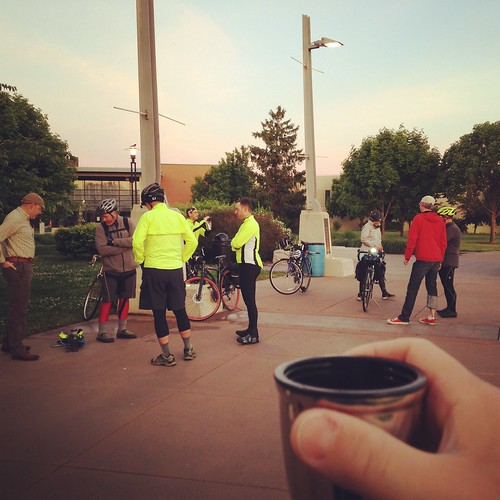 Day Three: Jordan Valley Park and return via Kingdom Coffee and Bicycles. Springfield Sunrise Coffee & Bicycle Club