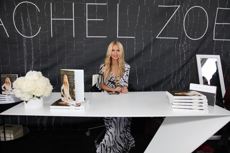 Rachel Zoe signs books at Ovarian Cancer Research Fund's 2nd Annual Super Saturday LA