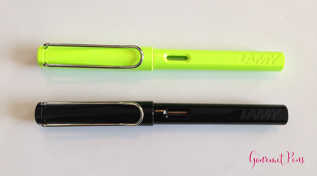 Review Lamy Safari LE 2015 Neon Lime Fountain Pen @Fontoplum0 @Lamy @LamyUSA (3)