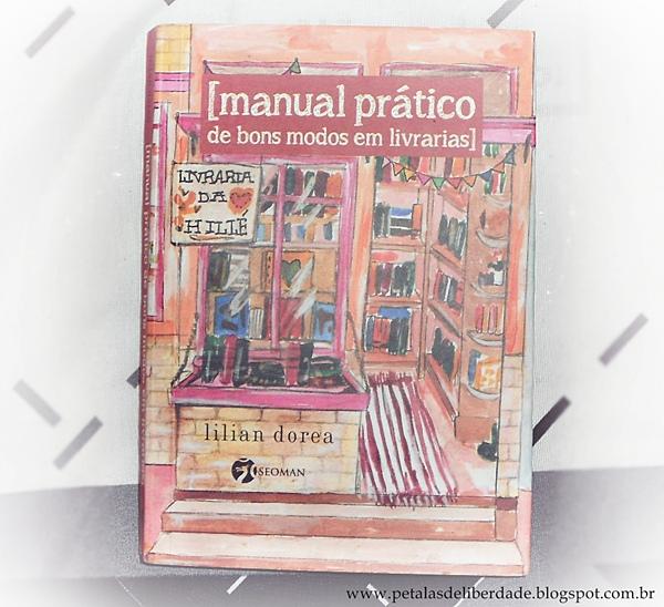 Capa manual prático de bons modos em livrarias