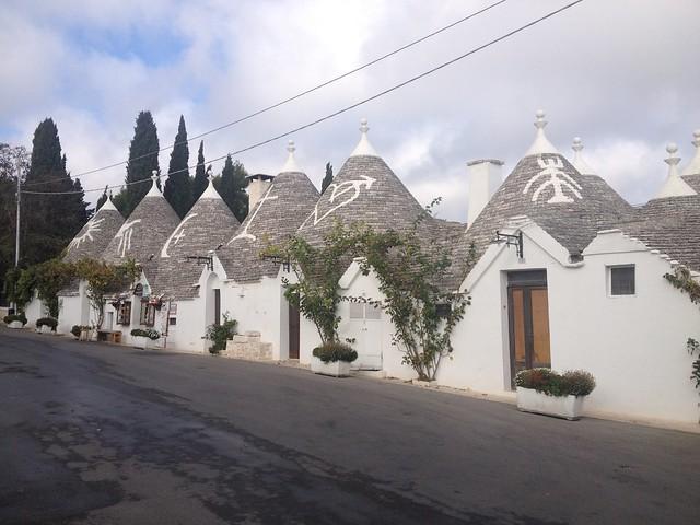 Puglia látnivalói - Alberobello trullo
