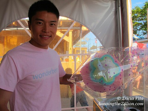 Chinese-style cotton candy