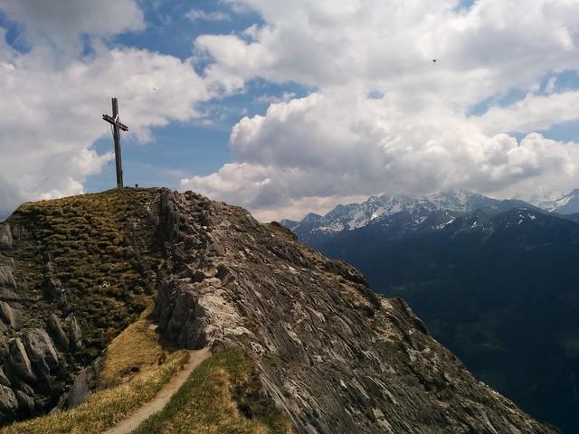 Gipfelkreuz Schönberg, Weißenbach Tauferer Ahrntal