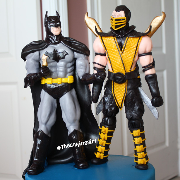 Batman Vs Scorpion Cake Visit My Blog At Www
