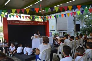 13° Festival del Libro y la Palabra: lectura de El Zoocielo de Sonia García