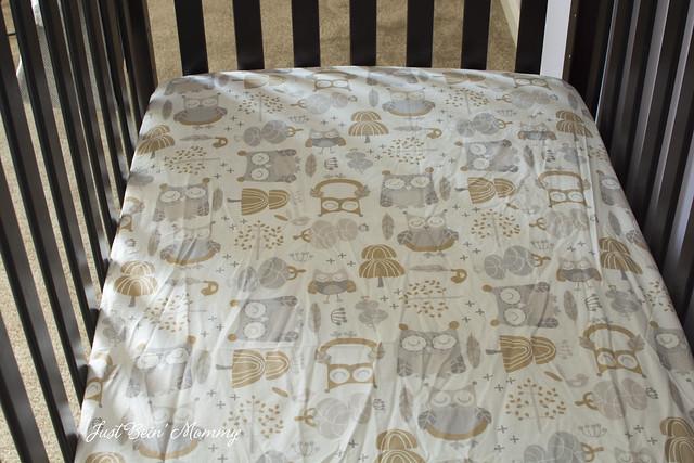 Levtex Baby Night Owl Crib Set