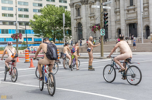 world naked bike ride montreal 53 | by Eva Blue