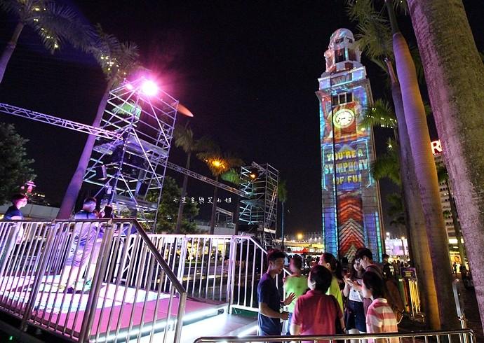 30 香港 閃躍維港 3D光雕匯演
