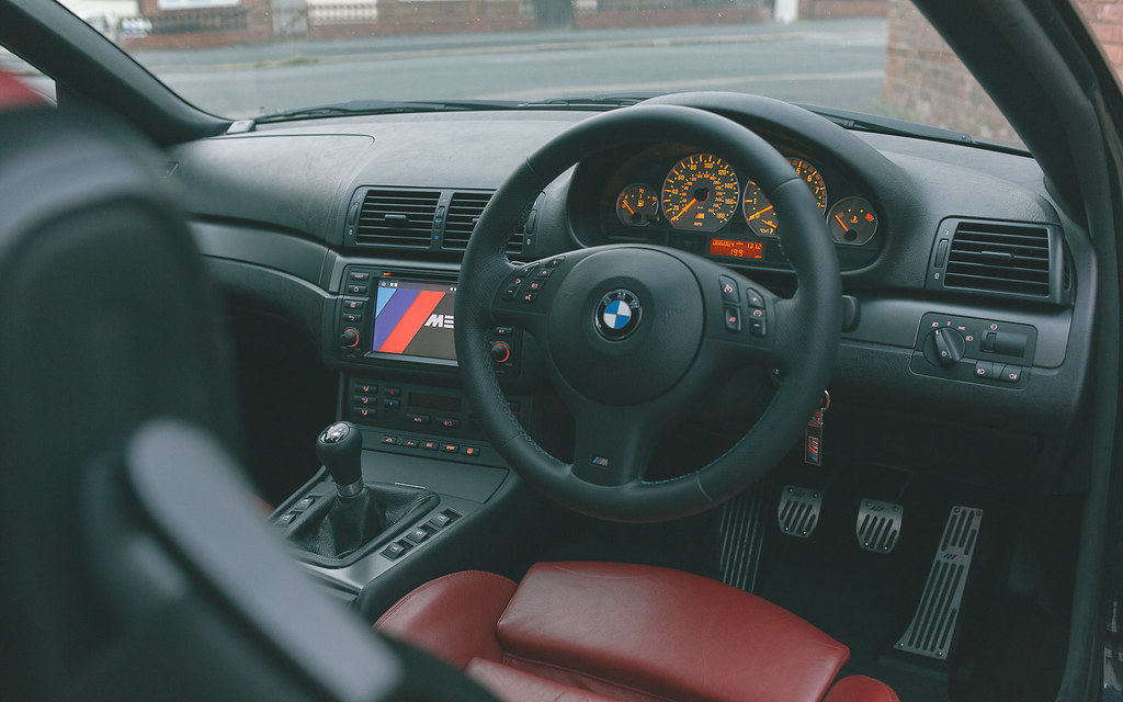 ... BMW E46 M3   Cabin | By Robbie Khan Design Inspirations