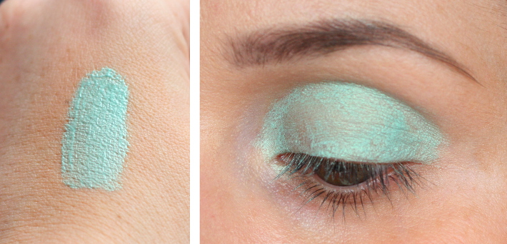beauty: Guerlain Terracotta Summer Shadow in Blue Ocean: review and swatches