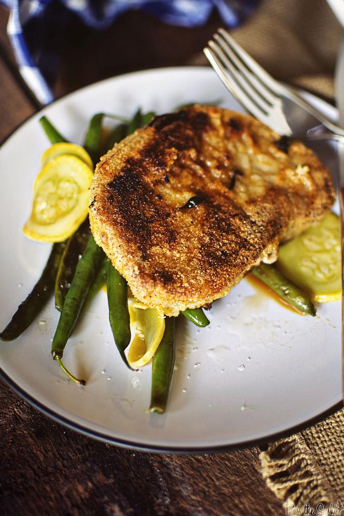 Cornmeal Coated Skillet Pork Chops \ GirlCarnivore.com
