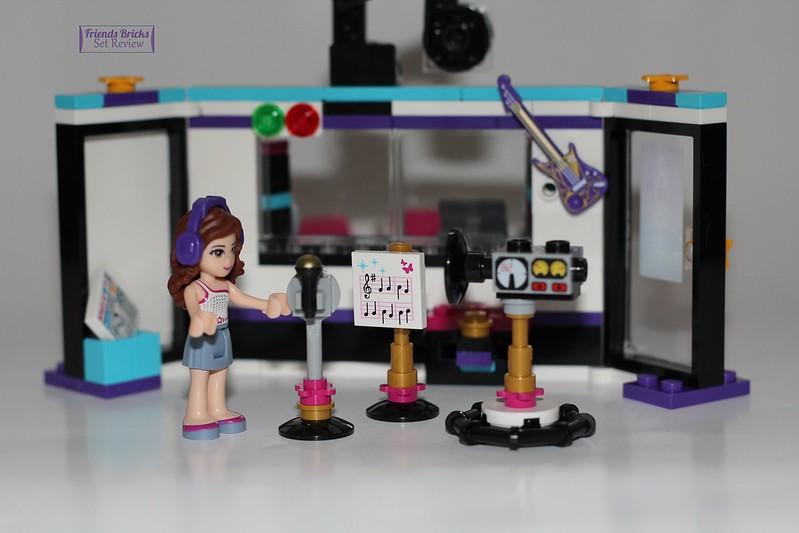 lego friends pop star recording studio instructions